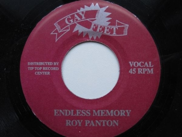 ENDLESS MEMORIES - ROY PANTONE  B/W EASTERN ORGAN BROTHER DON ALL STARS